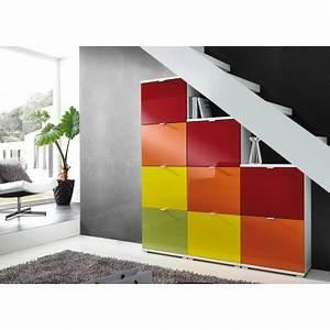 Meuble D Entrée Chaussures : meuble chaussures d 39 entr e major cbc meubles ~ Farleysfitness.com Idées de Décoration