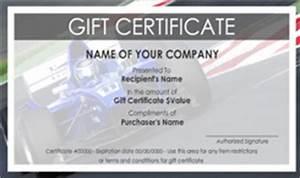 auto repair and maintenance gift certificate templates With automotive gift certificate template