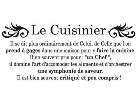citation cuisine humour le cuisinier atmosphère citation