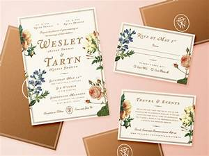 20 diy wedding invitations jpg psd ai illustrator With diy wedding invitations illustrator