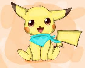 Chibi Pokemon Pikachu