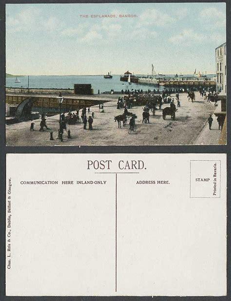 Ebay Boats Northern Ireland by Northern Ireland Postcard Bangor The Esplanade Pier
