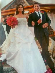 Vanessa Minnillo Wedding Dress