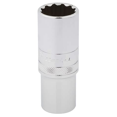 "2"" Square Drive Hitorq 12 Point Deep Socket (22mm"