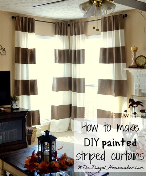 diy painted striped curtains yes i painted my curtains corner window curtain diy painted striped curtains yes i painted my curtains