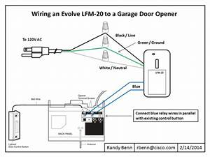 Wiring Diagram Garage Door Opener
