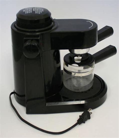Coffee espresso & cappuccino machines. Mr Coffee Espresso & Cappuccino Maker Machine Model ECM3 ...
