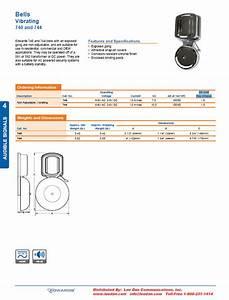 Edwards 740  U0026 744 Vibrating Bells