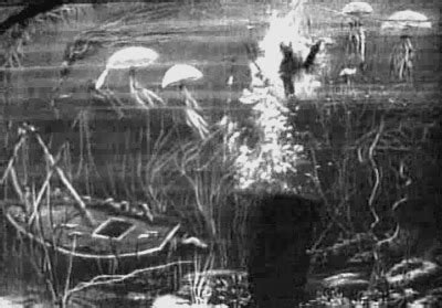 georges melies matte painting 13 a trip to the moon star film 1902