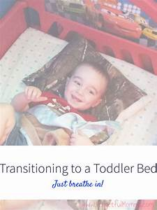Transitioning to a Toddler Bed