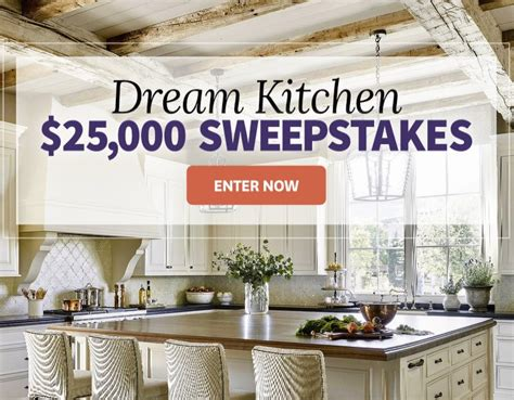 homes  gardens  kitchen sweepstakes