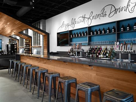 nectar wine beer kendall yards  hdg architecture