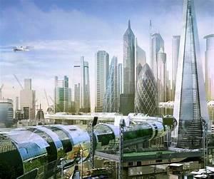 Future London, Futuristic City, Future Architecture, Simon ...
