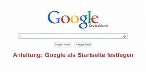 Google Home In Deutschland : google als startseite festlegen ~ Lizthompson.info Haus und Dekorationen