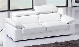 Canapé U Convertible : canap convertible 4 places cuir royal sofa id e de canap et meuble maison ~ Teatrodelosmanantiales.com Idées de Décoration