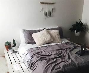 Comment Faire Un Lit En Palette : comment faire un lit en palette 52 id es ne pas manquer home decor pinterest recamara ~ Nature-et-papiers.com Idées de Décoration