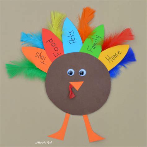 thanksgiving preschool crafts thankful turkey kid craft and book the resourceful 3075