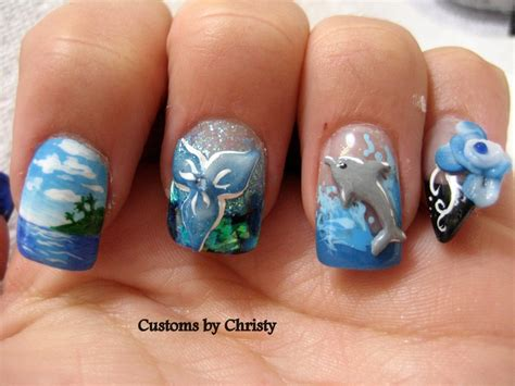 1000+ Images About Ocean Theme Nails On Pinterest