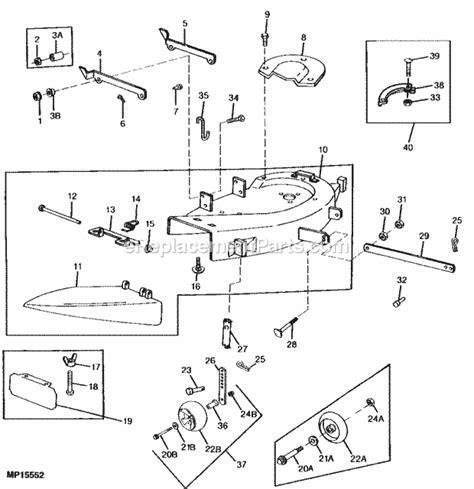 Deere Stx38 Yellow Deck Manual by Deere Stx38 Yellow Deck Wiring Diagram Free