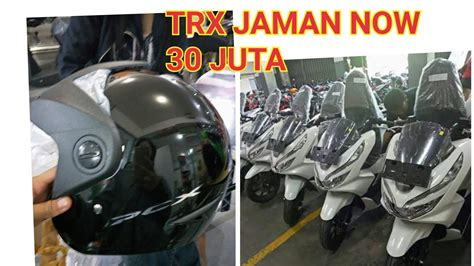 unboxing helm new pcx 2018 indonesia
