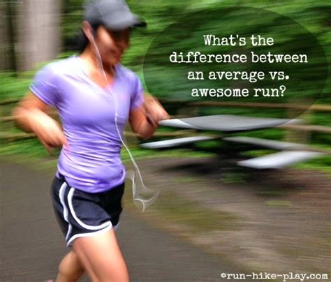 Runhikeplay The Difference Between An Average Vs