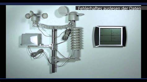 pce fws  wetterstation problembehandlung pcevideo youtube