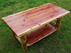17 best images about amish made log furniture on pinterest With rustic cedar coffee table
