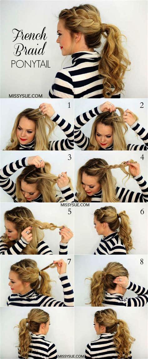 pin  hair braid tutorials