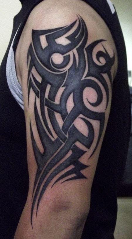 sleeve grey half tribal tribal half sleeve tattoos collections