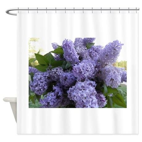 lilac shower curtain lilac lilac shower curtain by chickpixs