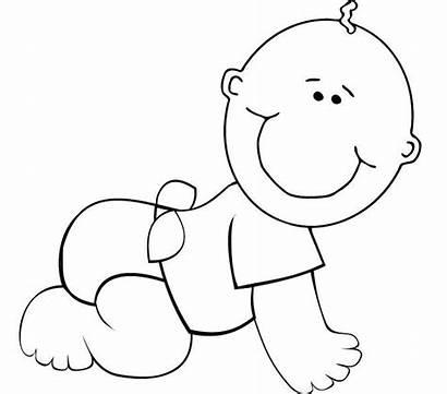 Coloring Template Cartoon Cry Boy Tiny Templates