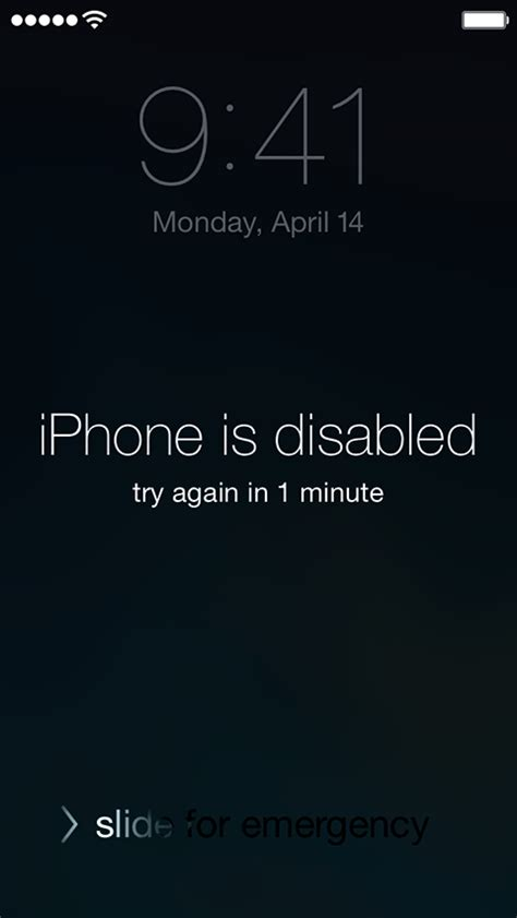 how to disable an iphone forgot passcode for your iphone or ipod touch or