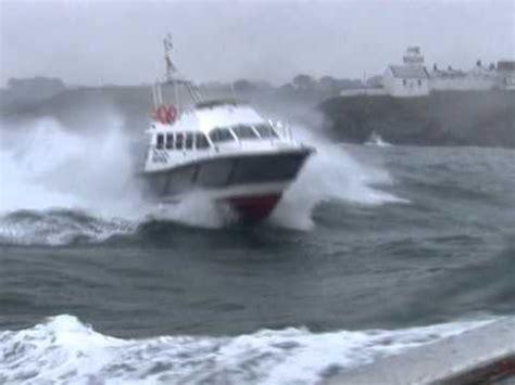 Lobster Boat In Rough Seas by Trialling Boats In Rough Seas Youtube