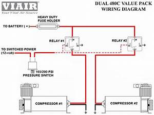 Viair Dual 480c Chrome Air Compressor Kit