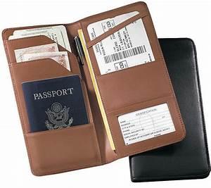 valetstandcom offers wide range of leather passport With passport and document holder