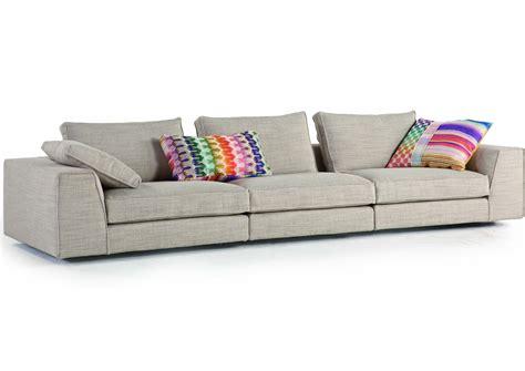 canapé en tissu avec revêtement amovible eole by roche bobois