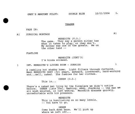 Tv Script Template For Pages the screenwriter s simple guide to formatting television
