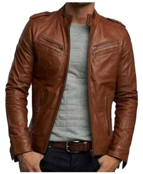 jual jaket kulit domba asli garut murah model pria