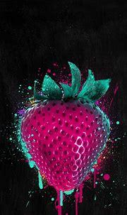 Strawberry | Wallpaper iphone locked, Iphone wallpaper ...