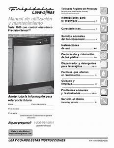 Frigidaire Fdb1050reb0 Pdf Manuals For Download