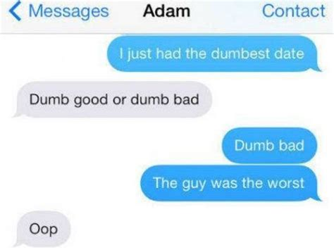 Worst Possible Texts Sent After The First Date
