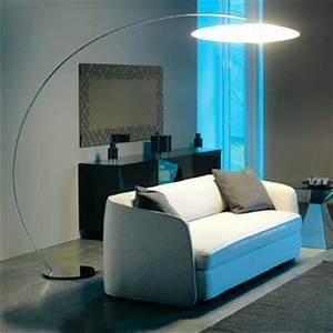 Lampadaire Salon Arc Lampe Sol Lasablonnaise