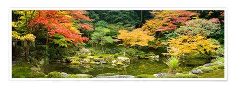 Japanischer Garten Zitat by Jan Christopher Becke Japanischer Garten Im Herbst Poster
