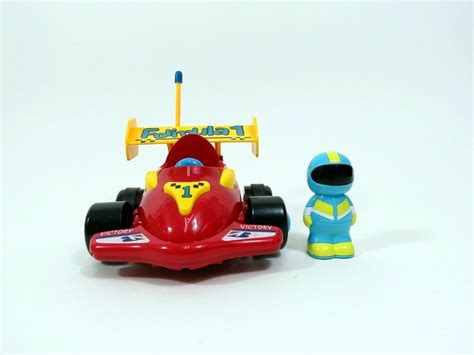 Cartoon Formula 1 Rc Race Car Remote Control Xmas Toy For