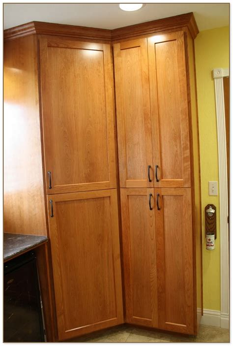 free standing cabinets free standing corner pantry cabinet