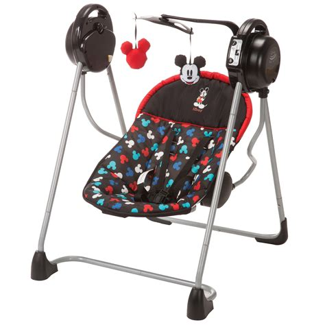 Minnie Mouse Baby Swing by Disney Mickey Mouse Sway N Play Swing
