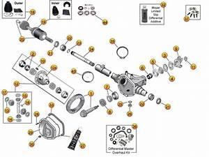 Dana Model 30 Front Axle Parts For Liberty Kj  U0026 Kk