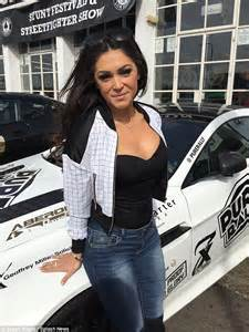 Cuvy Automobiles : casey batchelor flaunts her ample cleavage in low cut top for pure rally daily mail online ~ Gottalentnigeria.com Avis de Voitures