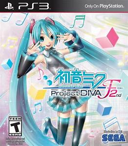 Hatsune Miku Project Diva F 2nd Playstation 3 Game