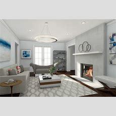 How To Get A Highend Contemporary Living Room Design On A